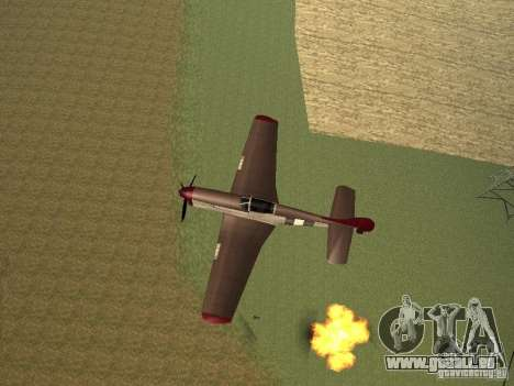 Air Strike pour GTA San Andreas troisième écran