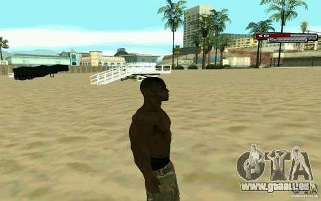 James Woods HD Skin pour GTA San Andreas troisième écran