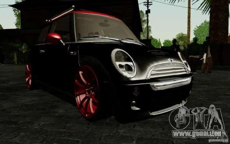 Mini Cooper S Tuned für GTA San Andreas Seitenansicht