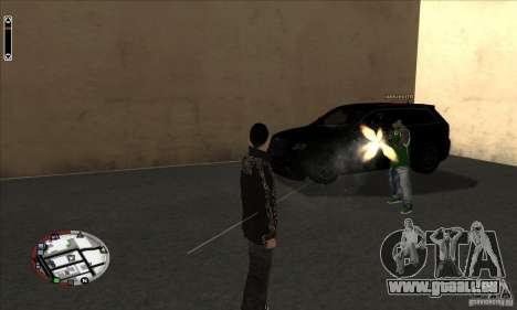 GodPlayer v1.0 for SAMP für GTA San Andreas dritten Screenshot