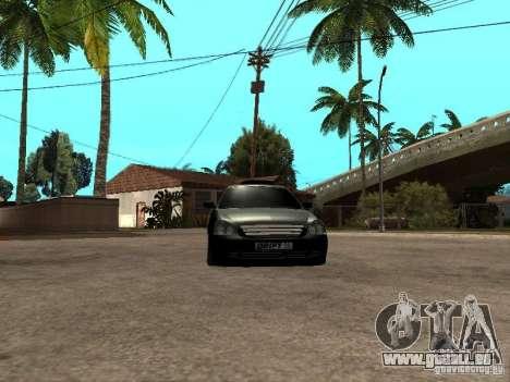 Lada Priora Pickup für GTA San Andreas Rückansicht