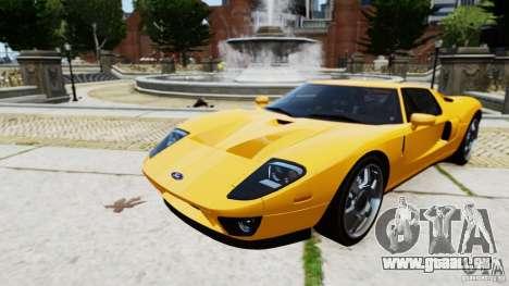 Ford GT 2005 v1.0 für GTA 4 hinten links Ansicht