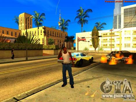 New Animations V1.0 für GTA San Andreas achten Screenshot