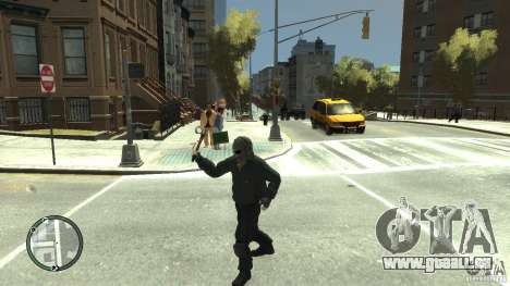 Assassins Creed III Tomahawk pour GTA 4 quatrième écran