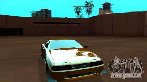 Elegy Roportuance für GTA San Andreas linke Ansicht
