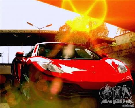 Lensflare Settings pour GTA San Andreas quatrième écran