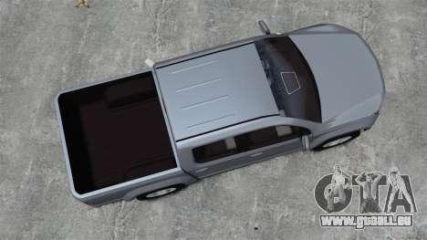 Volkswagen Amarok TDI pour GTA 4 est un droit
