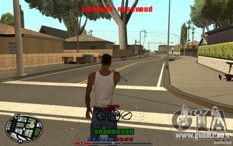 Cleo HUD by Cameron Rosewood V1.0 pour GTA San Andreas quatrième écran