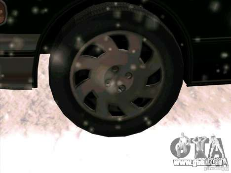 SA Taxi HD de GTA 3 pour GTA San Andreas vue de côté