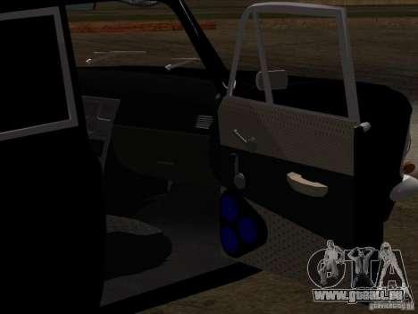 Moskvitch 408 Style supplémentaire pour GTA San Andreas vue de dessous