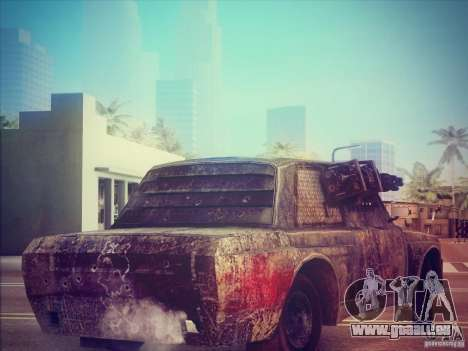 VAZ 2105 Gladiator für GTA San Andreas zurück linke Ansicht