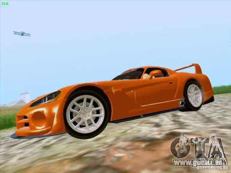 Dodge Viper GTS-R Concept für GTA San Andreas Rückansicht