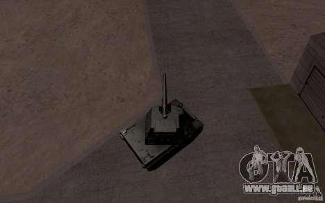 Bat. Chat. 155 SPG pour GTA San Andreas vue de côté