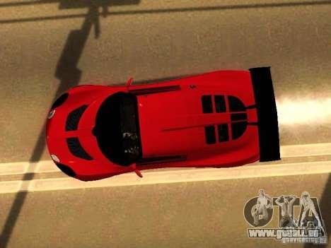 Lotus Exige 240R pour GTA San Andreas vue intérieure