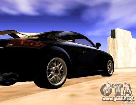 Audi TT RS für GTA San Andreas rechten Ansicht