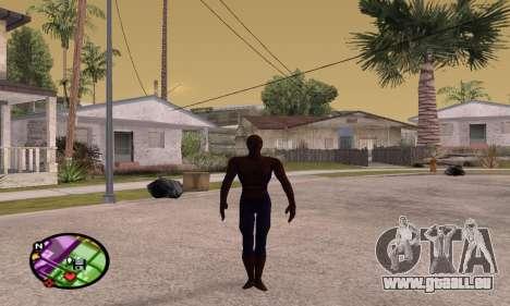 Spider Man and Venom pour GTA San Andreas deuxième écran