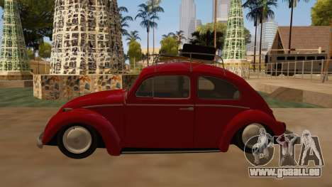 VW Beetle 1966 pour GTA San Andreas laissé vue