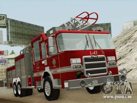 Pierce Arrow LAFD Ladder 43 für GTA San Andreas linke Ansicht