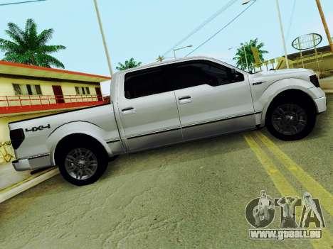 Ford F150 Platinum Edition 2013 für GTA San Andreas linke Ansicht