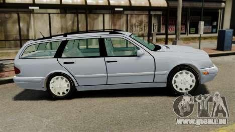Mercedes-Benz W210 Wagon pour GTA 4 est une gauche