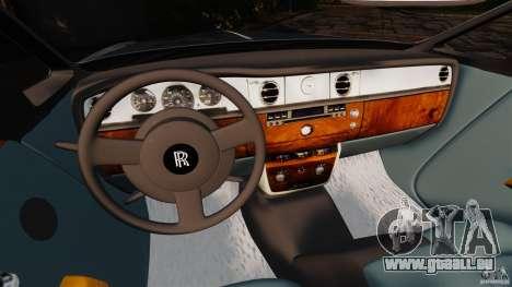 Rolls-Royce Phantom Convertible 2012 pour GTA 4 est un droit