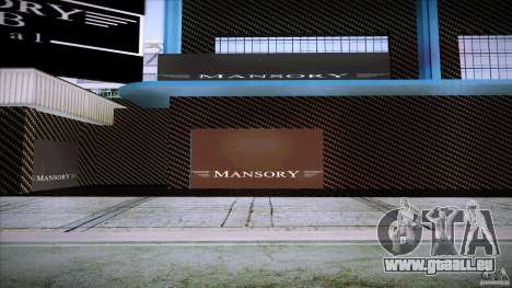Mansory Club Transfender & PaynSpray für GTA San Andreas her Screenshot