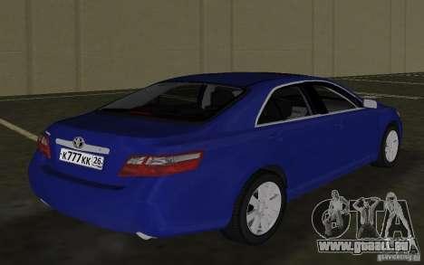 Toyota Camry 2007 für GTA Vice City rechten Ansicht