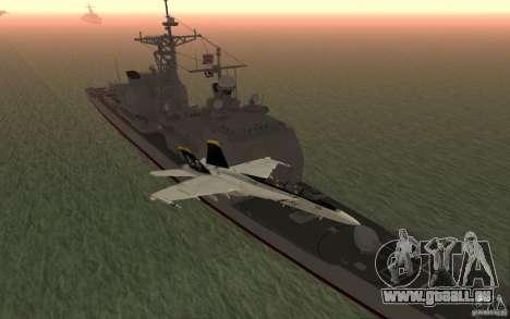 CSG-11 pour GTA San Andreas cinquième écran