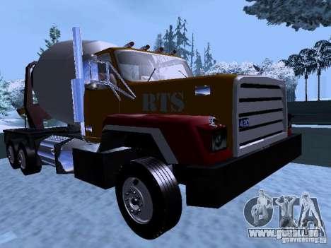 RTS 420 Šatalka pour GTA San Andreas laissé vue