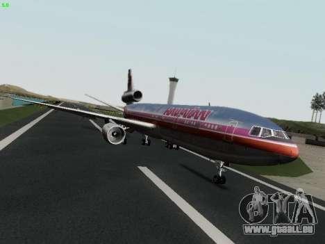 McDonell Douglas DC-10-30 Hawaiian pour GTA San Andreas vue de droite