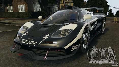 McLaren F1 ELITE Police pour GTA 4