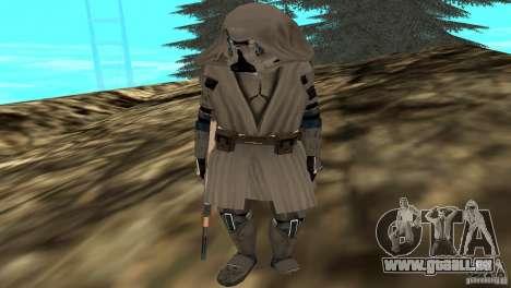 Commander Keller pour GTA San Andreas troisième écran