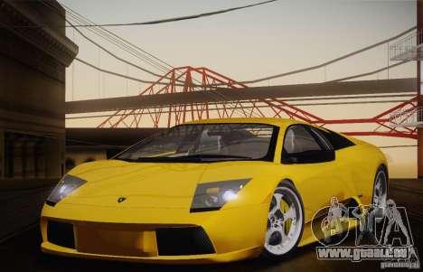 Lamborghini Murcielago 2002 v 1.0 für GTA San Andreas rechten Ansicht