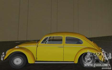 Volkswagen Beetle 1963 pour GTA Vice City sur la vue arrière gauche