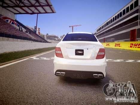 Mercedes-Benz C63 AMG Stock Wheel v1.1 für GTA 4 rechte Ansicht