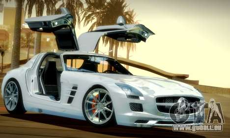 Mercedes-Benz SLS AMG 2010 für GTA San Andreas