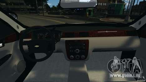 Chevrolet Impala Unmarked Detective [ELS] pour GTA 4 Vue arrière