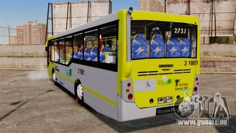 Busscar Urbanuss Pluss 2009 Le VIP Itaim Paulist für GTA 4 hinten links Ansicht