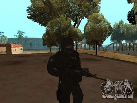 Membre du FSB pour GTA San Andreas