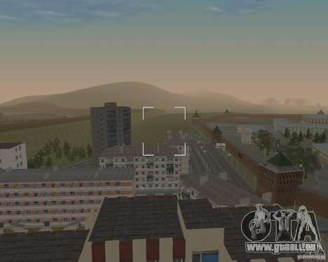 Nižegorodsk v0. 5 BETA für GTA San Andreas zweiten Screenshot