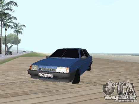 VAZ 21099 v2 pour GTA San Andreas vue de droite