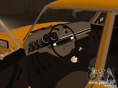 VAZ 2106 pour GTA San Andreas vue arrière