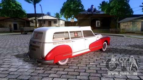 Buick Special Ambulance pour GTA San Andreas laissé vue