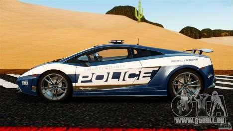 Lamborghini Gallardo LP570-4 Superleggera Police für GTA 4 linke Ansicht