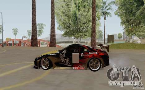 Nissan 350Z für GTA San Andreas Seitenansicht