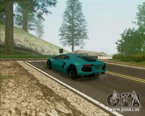 ENB v1.1 pour moyen- et haute puissance PC pour GTA San Andreas deuxième écran