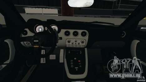 Alfa Romeo 8C Competizione Body Kit 1 pour GTA 4 est une vue de l'intérieur