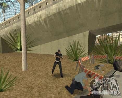 Scène du crime (scène de Crime) pour GTA San Andreas sixième écran