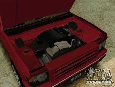 Huntley Freelander pour GTA San Andreas vue de droite