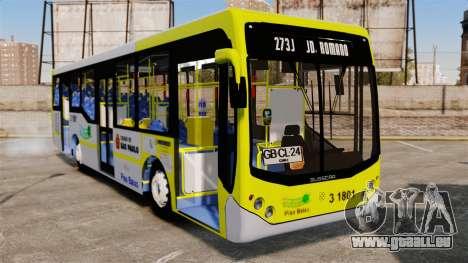 Busscar Urbanuss Pluss 2009 Le VIP Itaim Paulist für GTA 4